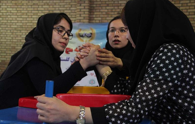 مسابقات مچ اندازی زنان باشگاه های گلستان +تصاویر