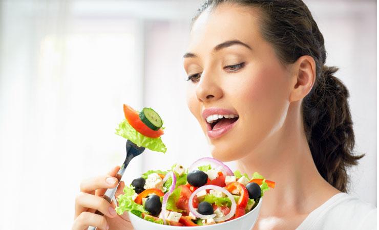 این مدلی غذا بخورید تا زود لاغر شوید