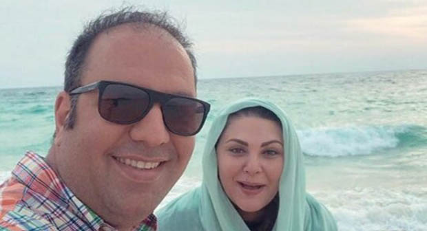 تیپ علی اوجی و ستاره اسکندری در کنار ساحل! + عکس