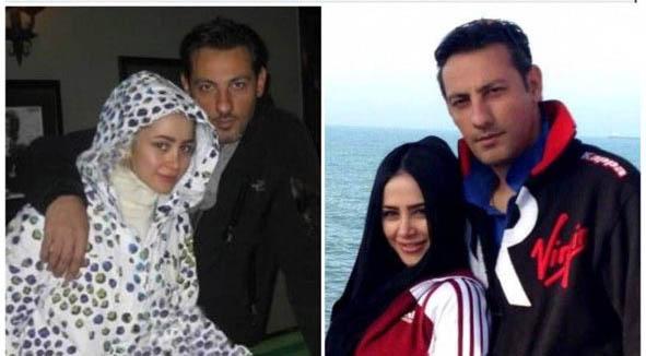 الناز حبیبی در کنار همسر سابقش + عکس