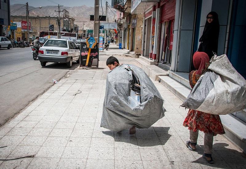 منطقهبندی تهران برای جمعآوری زباله توسط کودکان