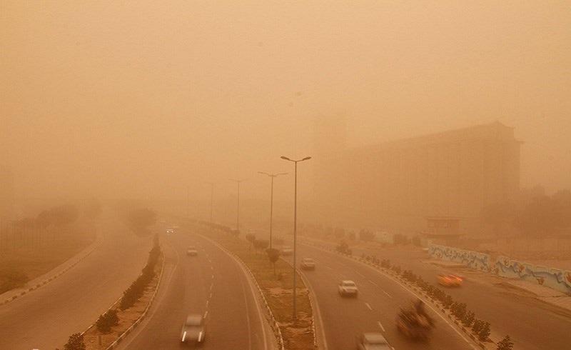 احتمال وقوع گرد و خاک شدید در سه استان