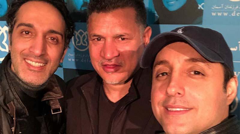 تیپ علی دایی دیشب در یک مراسم خاص! + عکس