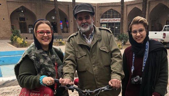 ایرانگردی بهاره رهنما به همراه دخترش! + عکس