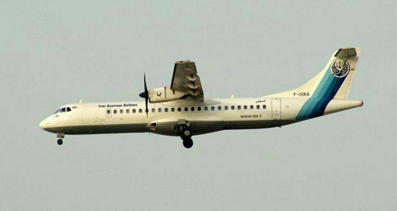 تصویری از هواپیمای تهران یاسوج که در سمیرم سقوط کرده است
