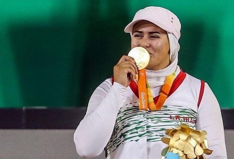 زهرا نعمتی بهترین ورزشکار معلول تیراندازی با کمان جهان شد+عکس