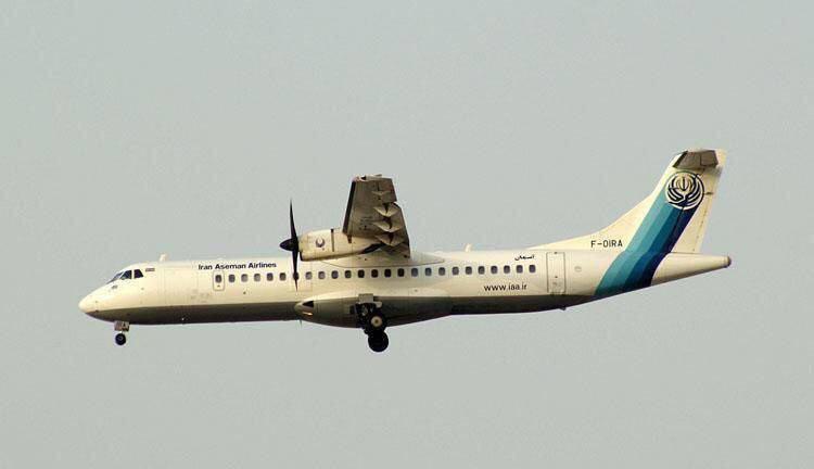 نجات جان مسافران هواپیمای یاسوج-تهران توسط کاپیتان فولاد + عکس