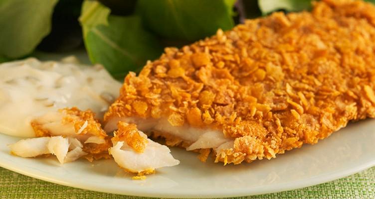 طرز تهیه فیله ماهی با سس تارتار