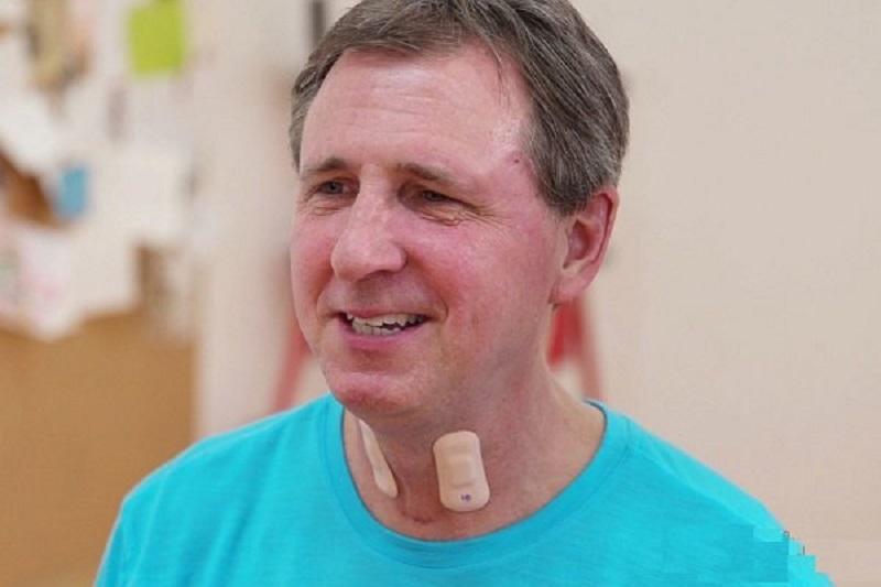 درمان سکته مغزی با نصب حسگر بر روی گلو