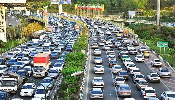 ترافیک سنگین تهران جان دانشمند یونانی را نجات داد+ عکس