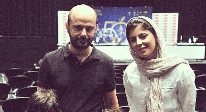 تیپ متفاوت لیلا حاتمی به همراه همسر و فرزندانش! + عکس
