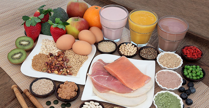 میزان پروتئین ۱۲ ماده غذایی چندین برابر تخم مرغ است