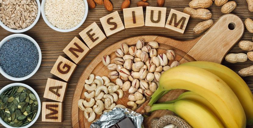 ۶ نشانه کمبود منیزیم