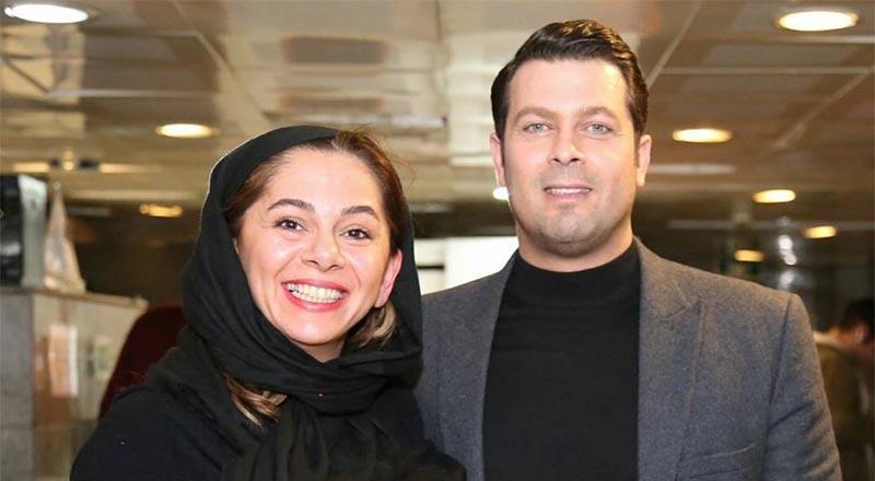 تیپ پژمان بازغی و همسرش دیشب در یک مراسم! (+عکس)