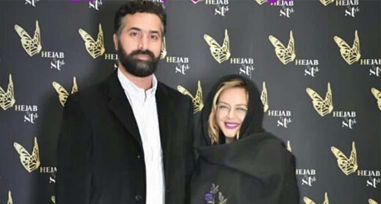 بهاره رهنما و همسرش دیشب در یک مراسم! + عکس