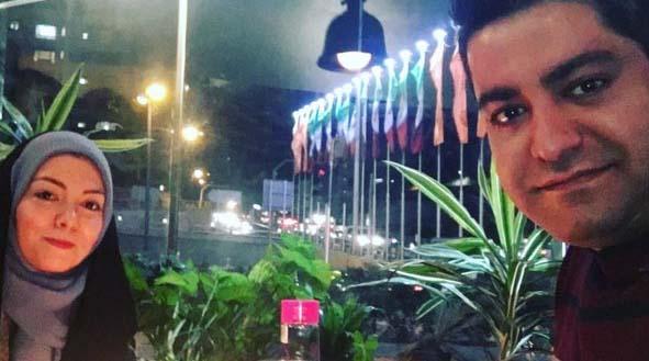 تیپ آزاده نامداری دیشب در جشن تولد همسرش! + عکس