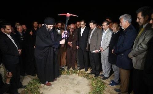 آغاز عملیات ساخت بیمارستان ۹۶ تختخوابی برخوار اصفهان