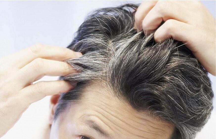 رفع ریشه های خاکستری مو بدون رنگ کردن