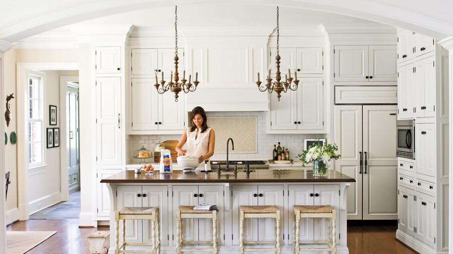 نگاهی به پنج مشکل عمده آشپزخانه های تمام سفید