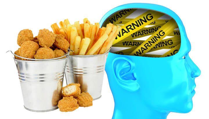 غذاهایی که مغزتان را نابود می کنند