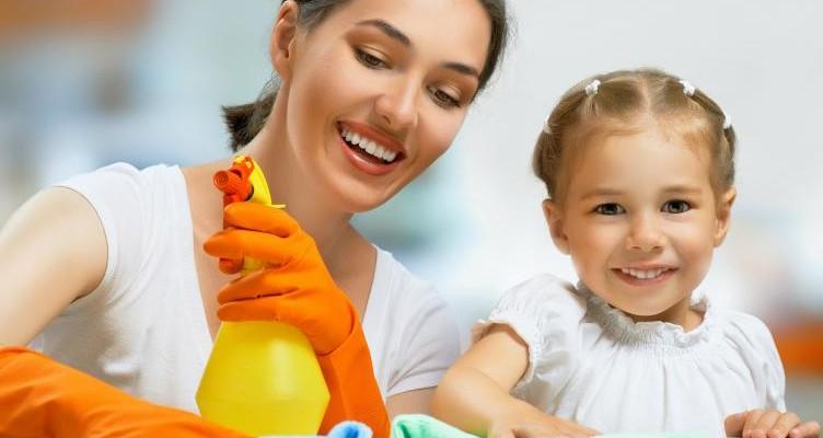 آموزش تمیز کردن ۲ مرحلهای آشپزخانه تنها در ۲۰ دقیقه