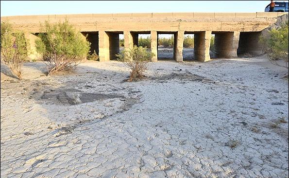 خشک شدن تالابهای قم زنگ خطر جدی برای پایتخت