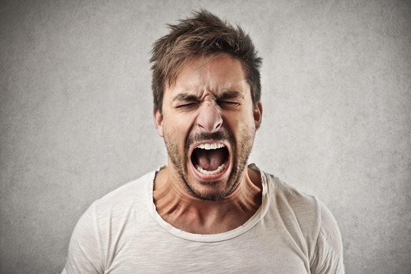 تغذیه در افراد عصبانی