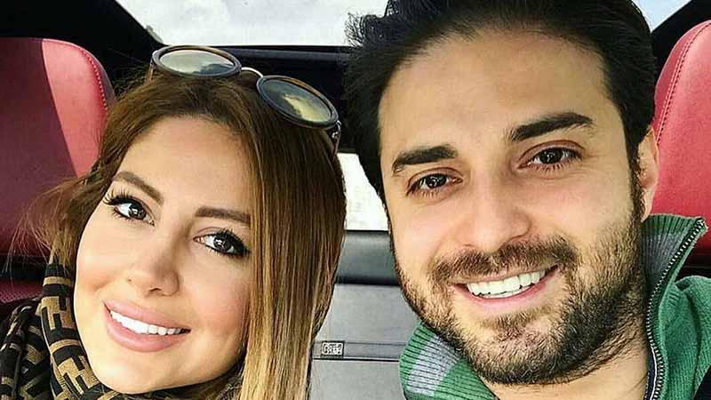 خوشگذرانی خواننده معروف به همراه همسر دومش! +عکس