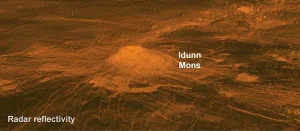 آتشفشان های فعال در سیاره ناهید+عکس