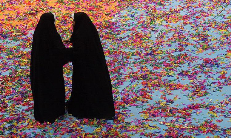 حجاب هایی که شما را از دور فریاد می زنند