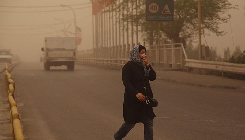 کیفیت هوای ۸ مرکز استان کشور ناسالم شد