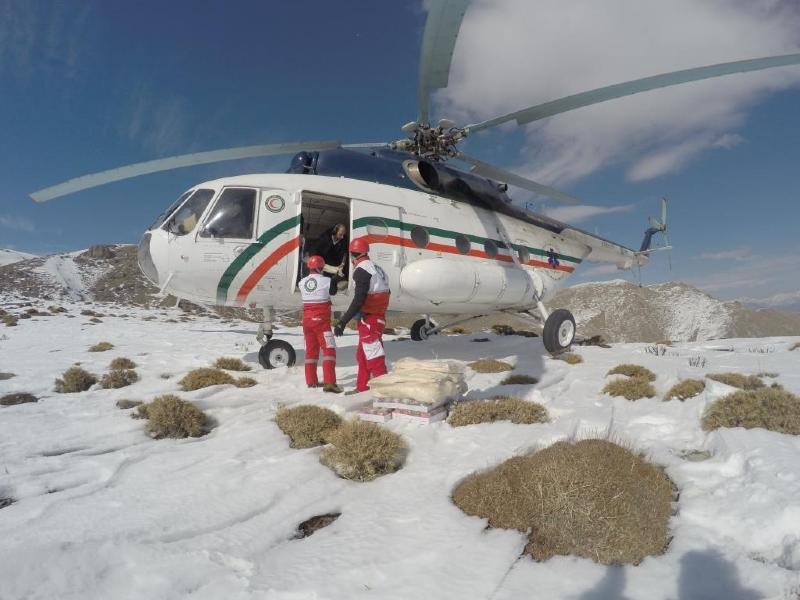 اعزام 10 تیم امدادی هلالاحمر به ارتفاعات محل سقوط هواپیمای ترکیهای