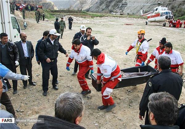 انتقال همه اجساد حادثه سقوط هواپیمای ترکیه + تصاویر