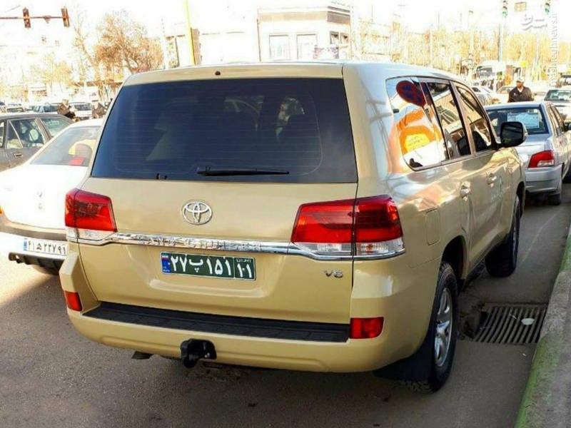 لندکروز در ناوگان نیروی انتظامی! + عکس