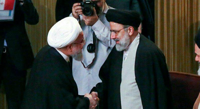روبرو شدن روحانی و رئیسی در مجلس خبرگان! + عکس