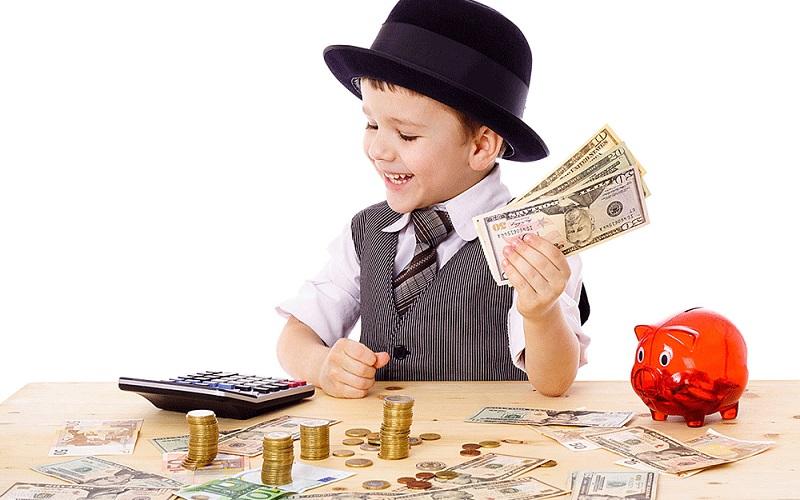 توصیه هایی که کودکانتان را در آینده ثروتمند می کند