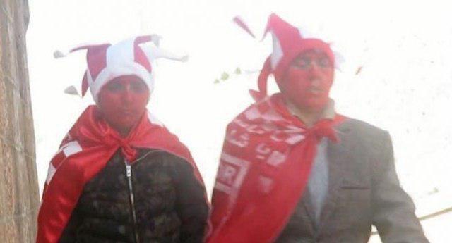 دو دختری که با پوشش پسرانه وارد ورزشگاه تبریز شدند! (+عکس)