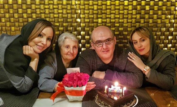 تیپ پرستو صالحی در جشن تولد برادرش! + عکس