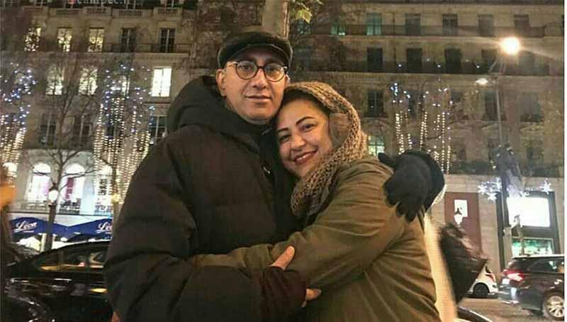 همسر مرحوم عارف لرستانی در ششمین سالگرد ازدواجشان + عکس
