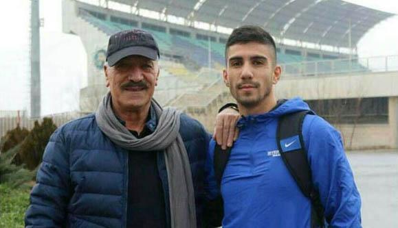 سعید راد و نوه فوتبالیستش! + عکس