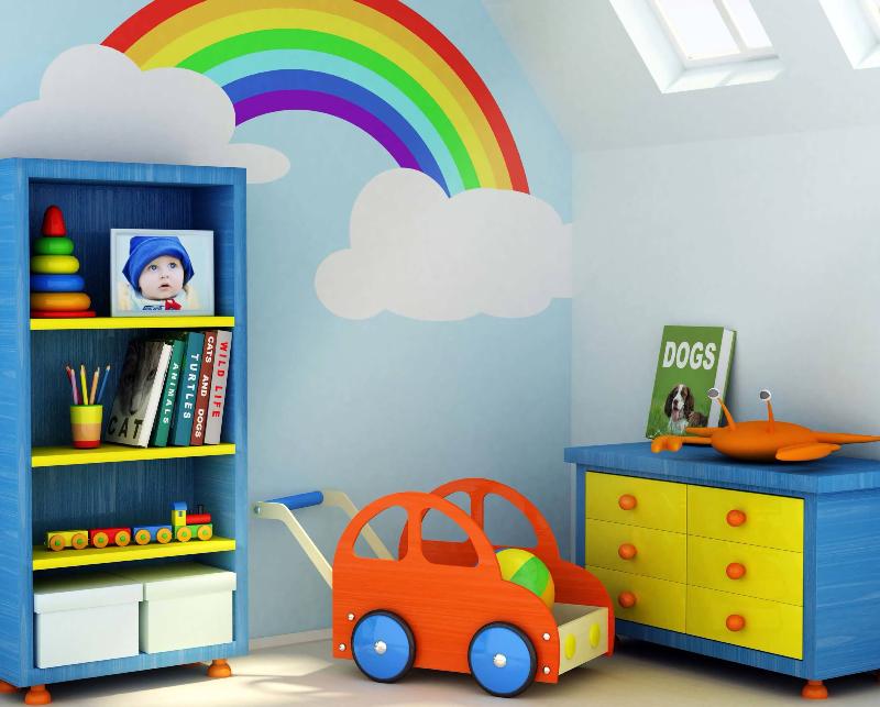 روش های خانه تکانی اتاق کودک برای عید