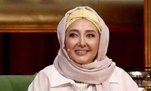 هدیه جالب خانم بازیگر به موزه دورهمی + عکس