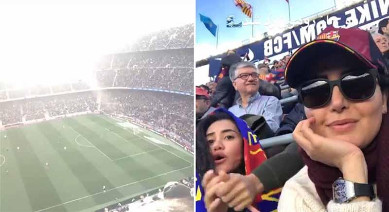تیپ «الناز شاکردوست» در اسپانیا! + عکس