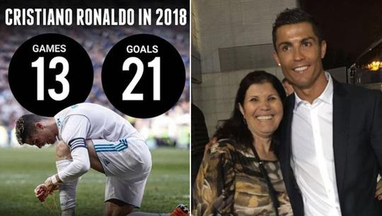 واکنش مادر رونالدو به منتقدان فرزندش! + عکس