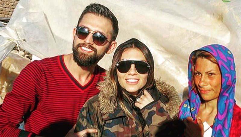 57865 محسن افشانی و همسرش سویل در سرپل ذهاب + عکس
