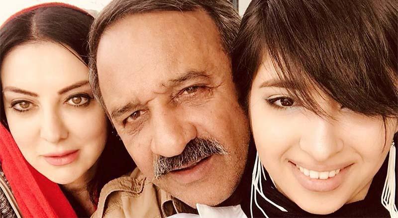 عکس خانوادگی علی اسیوند به همراه همسر و دخترش