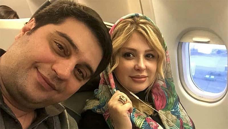 تیپ نیوشا ضیغمی و همسرش در راه سفر! + عکس