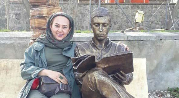 تیپ تبسم هاشمی در تبریز! + عکس