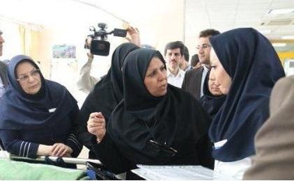 بازدید معاون پرستاری وزارت بهداشت از بیمارستان قائم مشهد