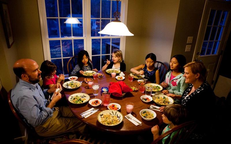 بهترین زمان برای خوردن شام